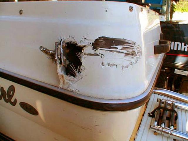 Как отремонтировать пластиковый катер